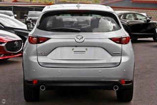 2020 Mazda CX-5 KF4WLA Akera SKYACTIV-Drive i-ACTIV AWD Silver 6 Speed Sports Automatic Wagon