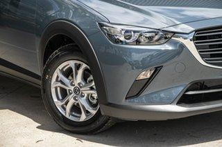 2021 Mazda CX-3 DK2W7A Maxx SKYACTIV-Drive FWD Sport Polymetal Grey 6 Speed Sports Automatic Wagon.
