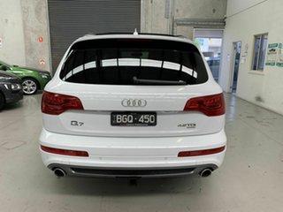 2014 Audi Q7 4L MY14 TDI Tiptronic Quattro White 8 Speed Sports Automatic Wagon