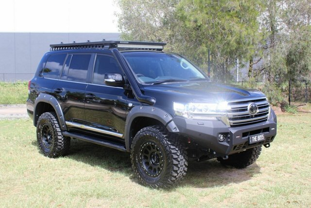 Used Toyota Landcruiser VDJ200R Sahara Ormeau, 2020 Toyota Landcruiser VDJ200R Sahara Black 6 Speed Sports Automatic Wagon
