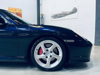 2002 Porsche 911 996 MY02 Turbo AWD Blue 5 Speed Sports Automatic Coupe.