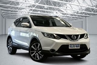 2017 Nissan Qashqai J11 TI Snow Storm Continuous Variable Wagon.