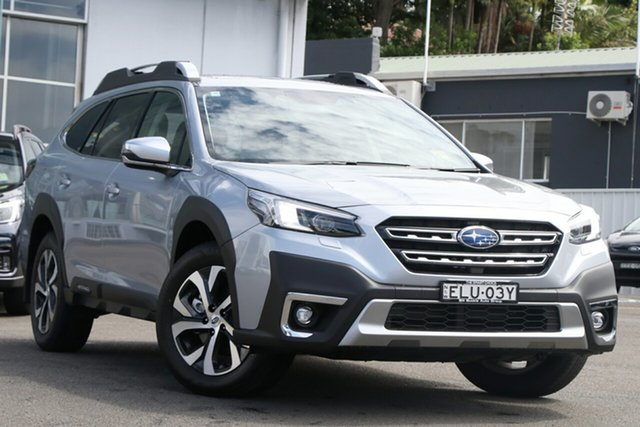 Demo Subaru Outback MY21 AWD Touring Brookvale, 2020 Subaru Outback MY21 AWD Touring Ice Silver Continuous Variable Wagon