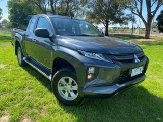 2020 Mitsubishi Triton MR MY21 Glx+ (4x4) Grey 6 Speed Automatic Club Cab Pickup