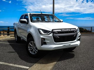2020 Isuzu D-MAX RG MY21 LS-M Crew Cab White 6 Speed Sports Automatic Utility.