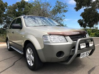 2007 Ford Territory SY TS AWD Gold 6 Speed Sports Automatic Wagon.