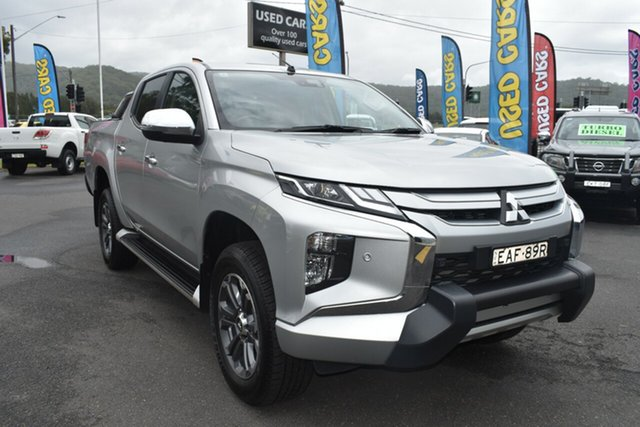 Used Mitsubishi Triton MR MY19 GLS Double Cab Premium Gosford, 2018 Mitsubishi Triton MR MY19 GLS Double Cab Premium Silver 6 Speed Sports Automatic Utility
