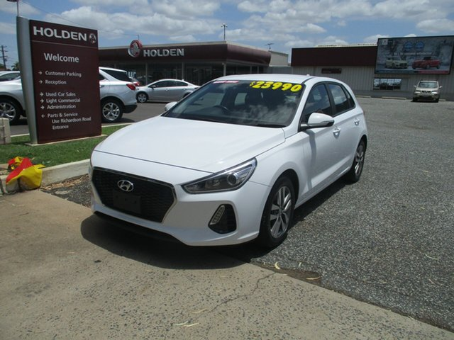 Used Hyundai i30 PD2 MY18 Active North Rockhampton, 2018 Hyundai i30 PD2 MY18 Active White 6 Speed Sports Automatic Hatchback
