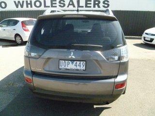 2006 Mitsubishi Outlander ZG MY07 LS Grey 6 Speed Constant Variable Wagon