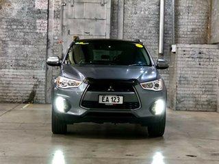 2015 Mitsubishi ASX XB MY15 XLS 2WD Grey 6 Speed Constant Variable Wagon.