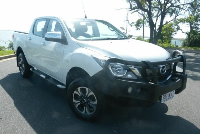 Used Mazda BT-50 UR0YG1 XTR Gladstone, 2016 Mazda BT-50 UR0YG1 XTR White 6 Speed Manual Utility