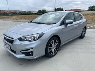 2017 Subaru Impreza G5 MY18 2.0i-L CVT AWD Silver 7 Speed Constant Variable Hatchback.