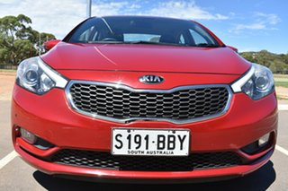 2013 Kia Cerato TD MY13 S Red 6 Speed Sports Automatic Sedan