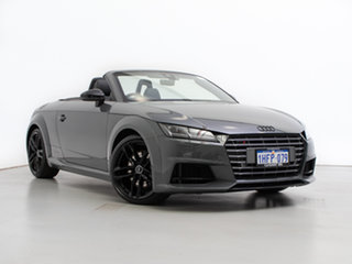 2016 Audi TT FV S 2.0 TFSI Quattro Grey 6 Speed Auto Dual Clutch Roadster.