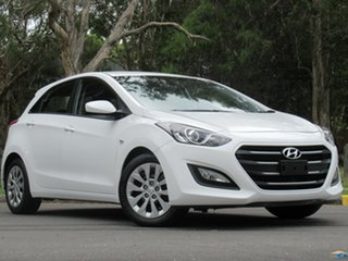 2016 Hyundai i30 GD4 Series II MY17 Active White 6 Speed Manual Hatchback.