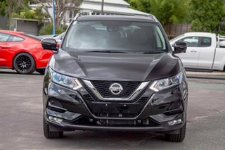 2019 Nissan Qashqai J11 Series 2 ST-L X-tronic Pearl Black 1 Speed Constant Variable Wagon.