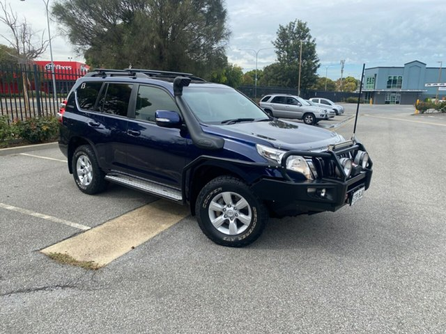 Used Toyota Landcruiser Prado KDJ150R MY14 GXL Mile End, 2014 Toyota Landcruiser Prado KDJ150R MY14 GXL Blue 5 Speed Sports Automatic Wagon