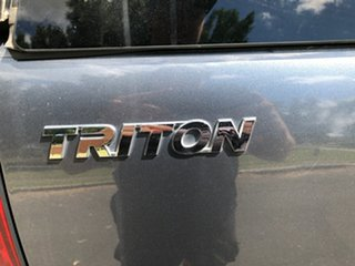 2008 Mitsubishi Triton ML MY08 GLX-R (4x4) Grey 5 Speed Manual 4x4 Double Cab Utility