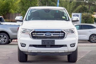 2019 Ford Ranger PX MkIII 2019.00MY XLT Arctic White 6 Speed Sports Automatic Super Cab Pick Up.