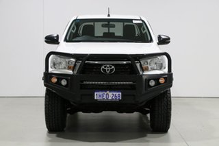 2019 Toyota Hilux GUN126R MY19 Upgrade SR (4x4) White 6 Speed Automatic Double Cab Pick Up.