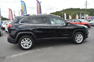2018 Jeep Cherokee KL MY19 Longitude Black 9 Speed Sports Automatic Wagon.