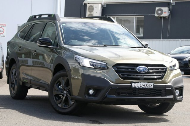 Demo Subaru Outback MY21 AWD Sport Brookvale, 2020 Subaru Outback MY21 AWD Sport Autumn Green Continuous Variable Wagon