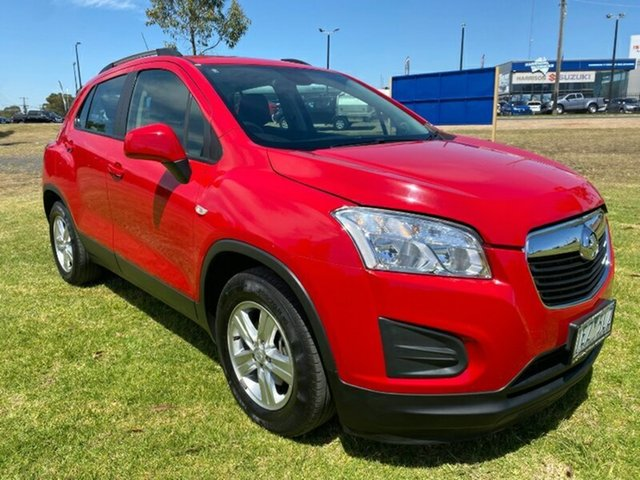 Used Holden Trax TJ MY16 LS Melton, 2015 Holden Trax TJ MY16 LS Red 6 Speed Automatic Wagon