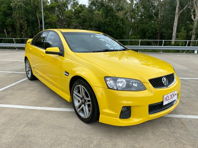 Used Holden Commodore VE II MY12 SS Morayfield, 2011 Holden Commodore VE II MY12 SS Yellow 6 Speed Automatic Sedan