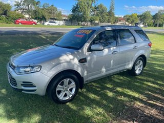 2012 Ford Territory SZ TX Seq Sport Shift Silver 6 Speed Sports Automatic Wagon.