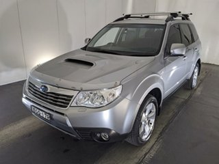 2008 Subaru Forester S3 MY09 XT AWD Silver 4 Speed Sports Automatic Wagon.