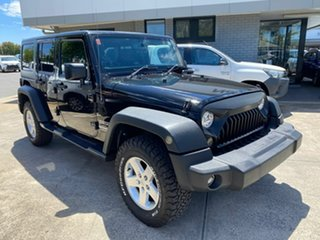 2014 Jeep Wrangler JK MY2014 Unlimited Sport Black 6 Speed Manual Softtop.