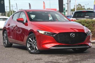 2020 Mazda 3 BP2H7A G20 SKYACTIV-Drive Touring Red 6 Speed Sports Automatic Hatchback.