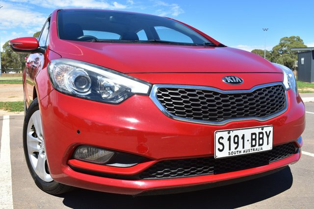 Used Kia Cerato TD MY13 S St Marys, 2013 Kia Cerato TD MY13 S Red 6 Speed Sports Automatic Sedan