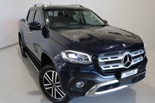 2018 Mercedes-Benz X-Class 470 X250d 4MATIC Power Blue 7 Speed Sports Automatic Utility.