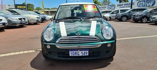 2006 Mini Hatch R50 MY05 Cooper Green 6 Speed Constant Variable Hatchback.