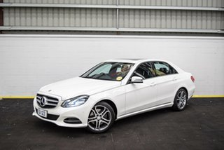 2016 Mercedes-Benz E-Class W213 E200 9G-Tronic PLUS White 9 Speed Sports Automatic Sedan.