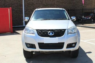 2012 Great Wall V200 K2 (4x2) Silver 6 Speed Manual Dual Cab Utility.