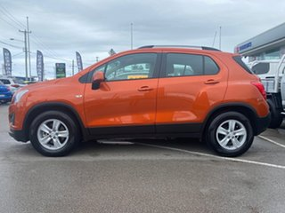 2014 Holden Trax TJ MY14 LS Orange 6 Speed Automatic Wagon