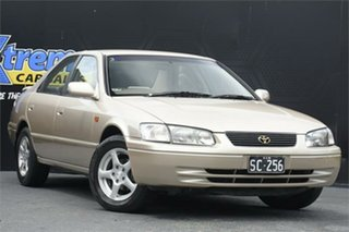 1998 Toyota Camry SXV20R CSX Fawn 4 Speed Automatic Sedan.