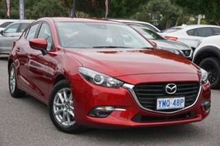 2018 Mazda 3 BN5478 Touring SKYACTIV-Drive Red 6 Speed Sports Automatic Hatchback.