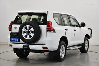 2018 Toyota Landcruiser Prado GDJ150R GX White 6 Speed Sports Automatic Wagon