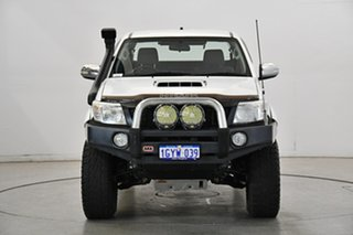 2012 Toyota Hilux KUN26R MY12 SR5 Xtra Cab White 5 Speed Manual Utility.