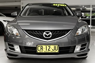 2008 Mazda 6 GH1051 Classic Grey 6 Speed Manual Hatchback