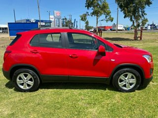 2015 Holden Trax TJ MY16 LS Red 6 Speed Automatic Wagon