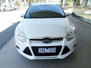 2013 Ford Focus LW MK2 Ambiente White 5 Speed Manual Sedan
