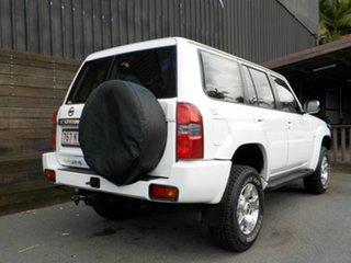 2006 Nissan Patrol GU IV MY05 ST-S White 4 Speed Automatic Wagon.