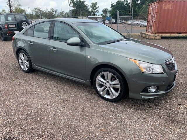 Used Holden Cruze SI Pinelands, 2013 Holden Cruze SI Green 6 Speed Manual Sedan