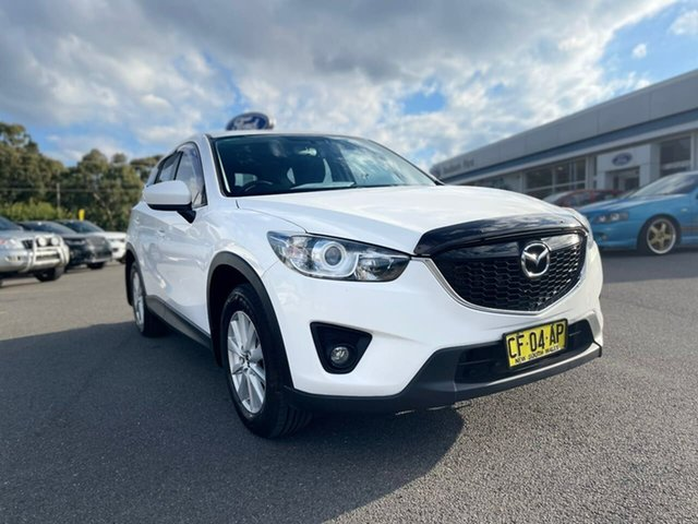 Used Mazda CX-5 Goulburn, 2012 Mazda CX-5 Maxx - Sport White Sports Automatic Wagon