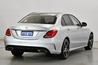 2016 Mercedes-Benz C-Class W205 807MY C200 7G-Tronic + Silver 7 Speed Sports Automatic Sedan