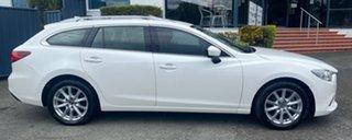 2014 Mazda 6 GJ1031 Sport SKYACTIV-Drive White 6 Speed Sports Automatic Wagon.